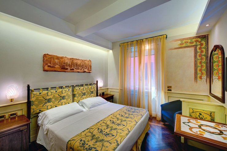 Classic double room  art hotel commercianti bologna