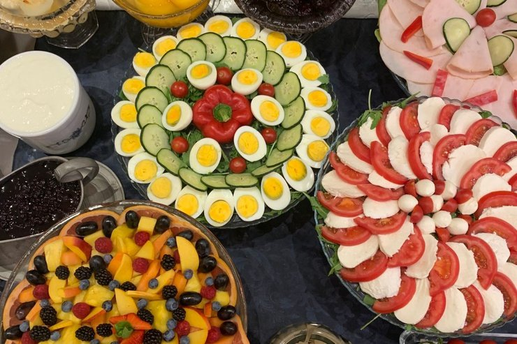 Our rich buffet breakfast  art hotel commercianti bologna