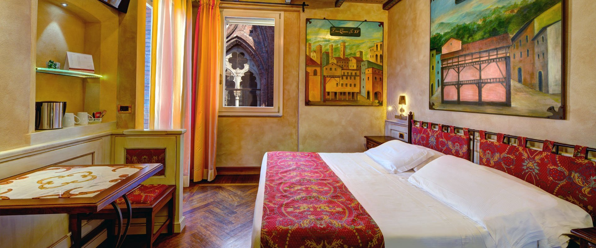 Unique rooms  art hotel commercianti bologna