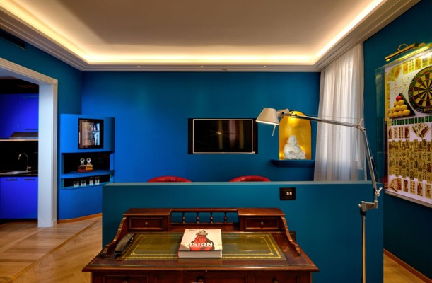 Luxury apartments battibecco  art hotel commercianti bologna