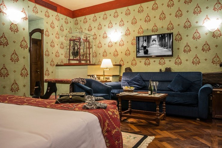 Junior deluxe suite  art hotel commercianti bologna