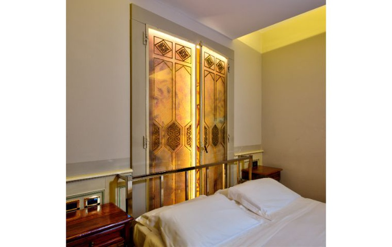 Deluxe double room  art hotel commercianti bologna